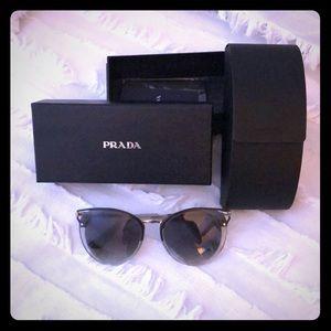 Prada SPR66T MRU-130 ladies sunglasses